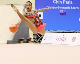 Paris Chin - Junior International - Ball